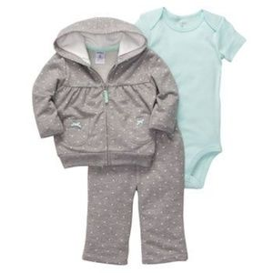 Carter's Matching Sets - CARTER'S 3-Piece Matching Set - Sz 6M